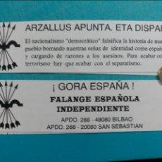 Documentos antiguos: OCTAVILLA FALANGE BILBAO FEI. Lote 107382402