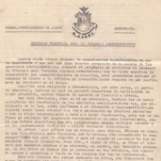 Documentos antiguos: AYUNTAMIENTO DE ALCOY. SECRETARÍA. FECHA: 9-10-41. Lote 52952124