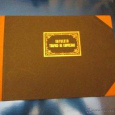 Documentos antiguos: LIBRETA-IMPUESTO-TRÁFICO DE EMPRESAS-R.H.C MODELO 50/51-NUEVO-100 HOJAS-VER FOTOS-(14). Lote 53128407