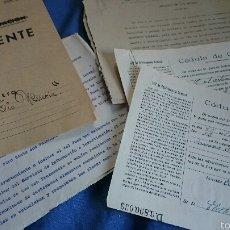 Documentos antiguos: EXPEDIENTE FALANGE, CASO TIO MISERIA, NOVELDA, 1944, PERSECUCIÓN COMUNISTA. CITACIÓN, HECHOS.... Lote 53151493