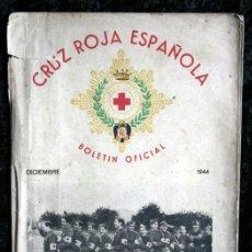 Documentos antiguos: CRUZ ROJA ESPAÑOLA - BOLETIN OFICIAL - 1944 - CON FOTOGRAFÍAS. Lote 53175662