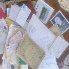 Documentos antiguos: GRAN LOTE DE VARIOS DOCUMENTOS,BANCARIOS,SEGUROS,MÉDICOS,CALENDARIOS, COMERCIALES. ETC. AÑOS 50/80. Lote 53195180