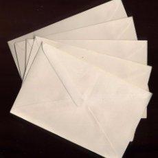 Documentos antiguos: LOTE 5 SOBRES PEQUEÑOS NUEVOS 14 X 9 CM. Lote 78456737