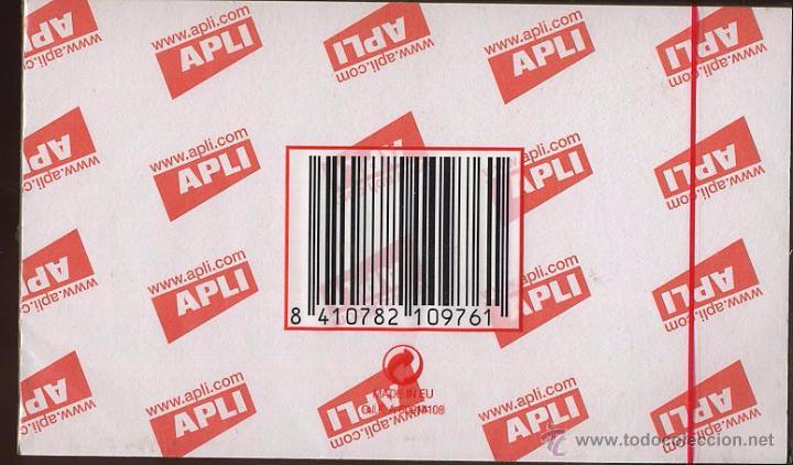 APLI NOTES - 100 HOJAS PARA NOTAS - NUEVO CON ENVOLTORIO - 125 X 75 MM (Coleccionismo - Documentos - Otros documentos)