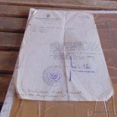 Documentos antiguos: DOCUMENTO DELEGACION PROVINCIAL DE SINDICATOS FALANGE ESPAÑOLA TRADICIONALISTA SEVILLA 1949. Lote 53325215