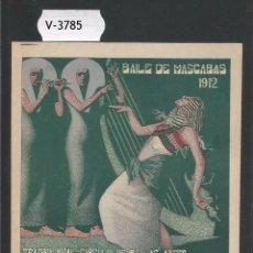 Documentos antiguos: ENTRADA - INVITACION - TEATRO - CIRCULO BELLAS ARTES MADRID - MIDE 8,5 X 11,5CM-VER REVERSO (V-3785). Lote 53338654