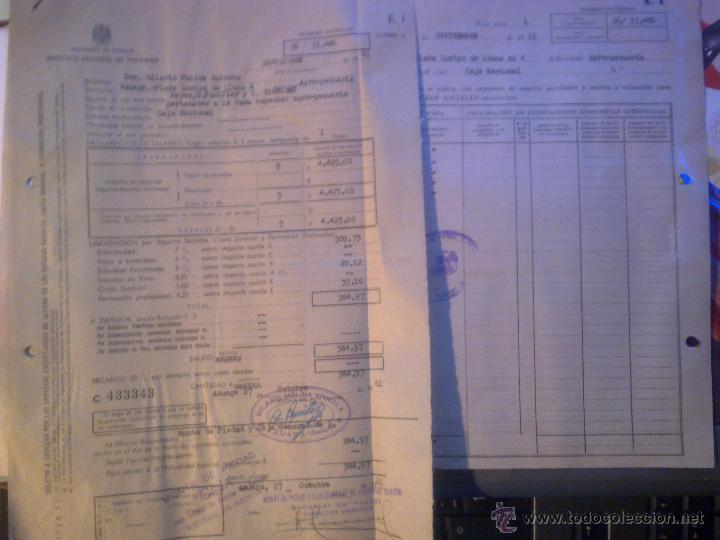 INSTITUTO NACIONAL DE PREVISION - (Coleccionismo - Documentos - Otros documentos)