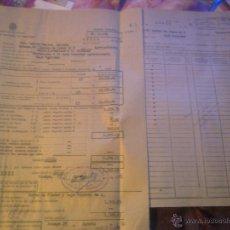 Documentos antiguos: INSTITUTO NACIONAL DE PREVISION -. Lote 53358263