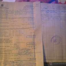 Documentos antiguos: INSTITUTO NACIONAL DE PREVISION -. Lote 53358532