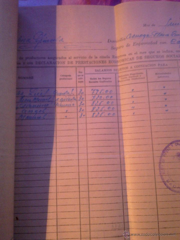 Documentos antiguos: INSTITUTO NACIONAL DE PREVISION - - Foto 2 - 53358564
