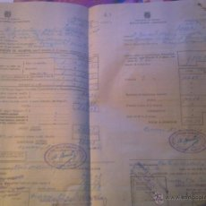 Documentos antiguos: INSTITUTO NACIONAL DE PREVISION -. Lote 53358604