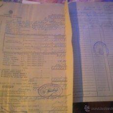 Documentos antiguos: INSTITUTO NACIONAL DE PREVISION -. Lote 53358640