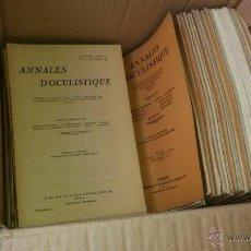 Documentos antiguos: ANNALES DOCULISTIQUE 1939. Lote 53596811