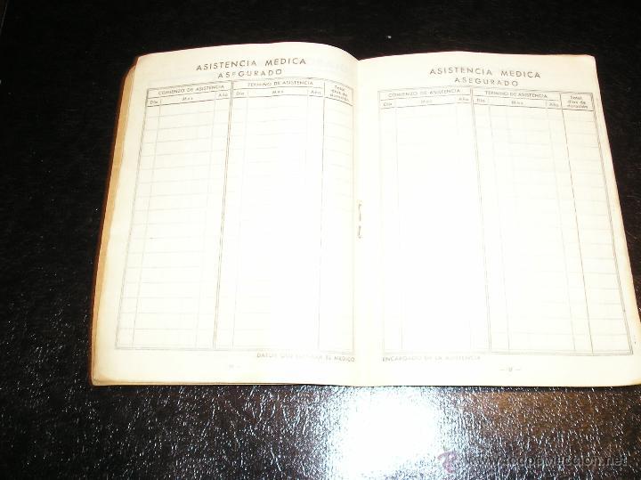 Documentos antiguos: CARTILLA DE IDENTIDAD DEL INSTITUTO NACIONAL DE PREVISION CAJA NACIONAL DEL SEGURO DE ENFERMEDAD - Foto 4 - 53624339