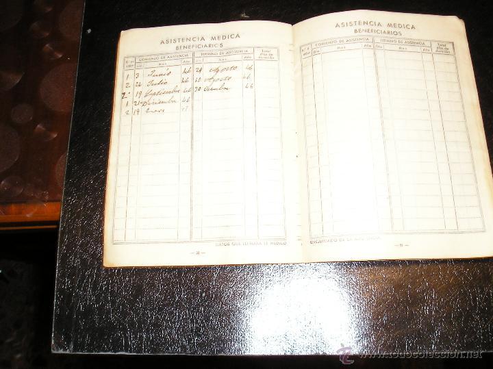 Documentos antiguos: CARTILLA DE IDENTIDAD DEL INSTITUTO NACIONAL DE PREVISION CAJA NACIONAL DEL SEGURO DE ENFERMEDAD - Foto 8 - 53624339