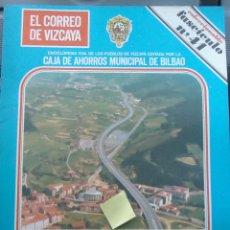 Documentos antiguos: FASCICULO BERRIZ ZALDIBAR DURANGO DURANGUESADO ZALDU ERREKA MATIENA VIZCAYA EUSKADI. Lote 54023561