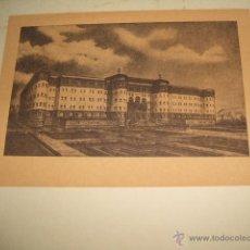 Documentos antiguos: BILBAO PROYECTO DE SEMINARIO TARJETA LITOGRAFICA. Lote 54027618