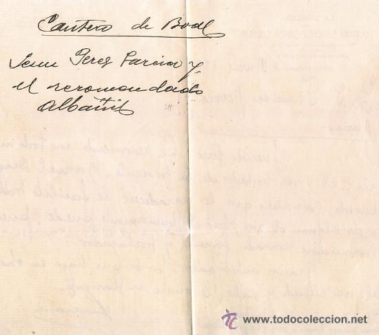 Documentos antiguos: ANTIGUA CARTA DE RECOMENDACIÓN DEL CARTERO A LA BOALESA BOAL ASTURIAS 1928. CORREOS - Foto 2 - 54162472