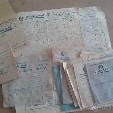 Documentos antiguos: LOTE DOCUMENTACIÓN DE AUXILIO SOCIAL. Lote 114260743