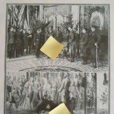 Documentos antiguos: CUARTEL MILITAR DOCKS MADRID REY ALFONSO XIII BORBON SOLDADOS REGIMIENTO GENERAL SARO EJERCITO. Lote 54337296