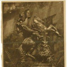 Documentos antiguos: PORTADA DIARIO DE BARCELONA ABRIL 1950 EL CABALLERO SAN JORGE 24X 31 CM (APROX). Lote 54627886