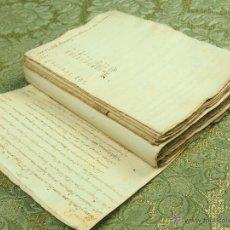 Documentos antiguos: DO-049. RELACIÓN DE PAGOS CONSTRUCCIÓN Y REPARACIÓN DE CASAS EN BARCELONA.CIRCA 1780.. Lote 51928116