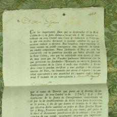 Documentos antiguos: DO-060. CONTRIBUCIÓN PARA FUNDACION DE CAXA DE REDUCCIÓN DE VALES. SEGUÍ.BARCELONA. 1799.. Lote 51975014