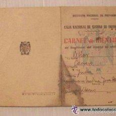 Documentos antiguos: CARNET DE IDENTIDAD DE UN NIÑO . MEDINA DE LAS TORRES ( BADAJOZ ), 1944. Lote 55588818