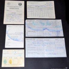 Documentos antiguos: LOTE DOCUMENTOS MÉDICOS ANTIGUOS. Lote 55688802