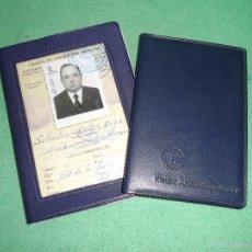 Documentos antiguos: RARO LOTE LIBRETA INSCRIPCION MARITIMA CONTRAMAESTRE COMANDANCIA SANTANDER CARTILLA NORUEGA AÑOS 50. Lote 55996906