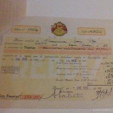 Documentos antiguos: REDDIS REUS TARRAGONA. Lote 56011389