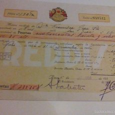 Documentos antiguos: REDDIS REUS TARRAGONA 1956. Lote 56011410