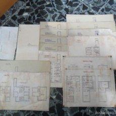 Documentos antiguos: PLANOS PROYECTOS ARQUITECTO JENARO DE LA FUENTE URBANIZACION PLAYA Y CIUDAD DE VERANO AMERICA 1933. Lote 56013444