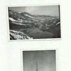 Documentos antiguos: ANTIGUAS FOTOGRAFÍAS *LOCALIZACIÓN POZO PETROLEO EN BURGOS* -AÑOS 40-50-. Lote 56144867