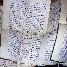 Documentos antiguos: DOCUMENTO NORMATIVA FUNCIONAMIENTO DE LOS PUESTOS DE PESCADO DEL MERCADO DE GERONA GIRONA 1939. Lote 56369570