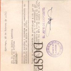 Documentos antiguos: RED NACIONAL FERROCARRILES ESPAÑOLES, AUMENTO DE SUELDO Y JORNALES, 1963. Lote 56799547