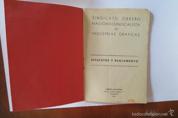 Documentos antiguos: ESTATUTOS Y REGLAMENTO - Foto 3 - 56856134