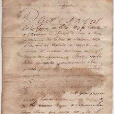 Documentos antiguos: EJECUTORIA CENSAL, IMPUESTOS POR CARLOS IV A LA VILLA DE ECHARRIARANAZ PAMPLONA 1799. Lote 57046296