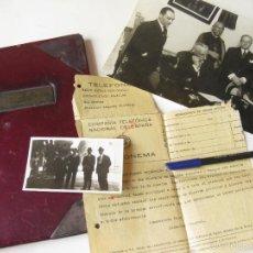 Documentos antiguos: LIBRO DE FIRMAS DEL DIRECTOR DEL 5 DISTRITO DE LA COMPAÑIA TELEFONICA - ALMENDRALEJO PRIMO DE RIVERA. Lote 57406779