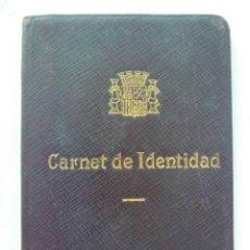 Documentos antiguos: REPUBLICA : CARTERITA Y CARNET IDENTIDAD DE AGENTE COMERCIAL. BARCELONA , 1936. Lote 57595052