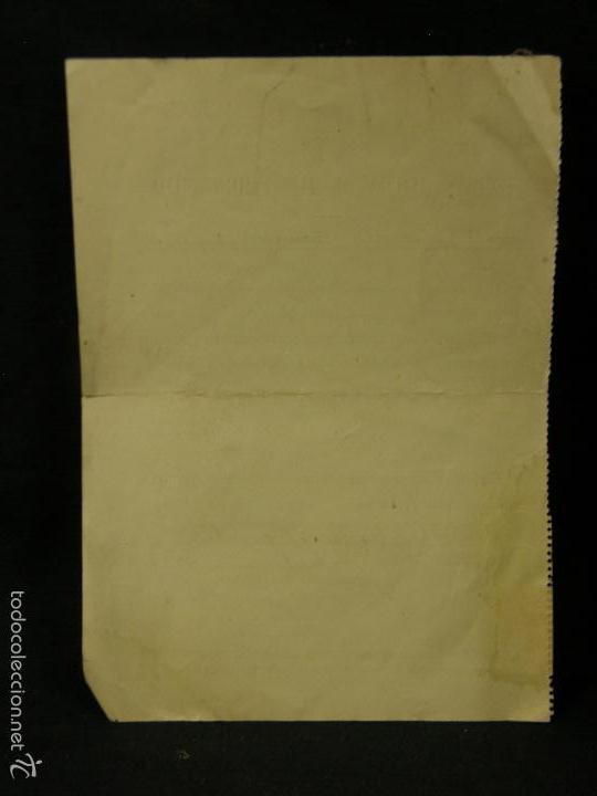 Documentos antiguos: escuela oficial telecomunicacion pago derechos examen 1 curso ingeniería teleco electronica 1957 - Foto 2 - 57611560