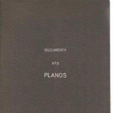 Documentos antiguos: PROYECTO ILUMINACIÓN ESCUELA DE PERITOS. CARPETA CONTENIENDO 21 PLANOS. (Z9). Lote 57729528