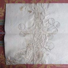 Documentos antiguos: 1600-1700- ARBOL GENEALÓGICO.APELLIDOS MORETA SALAZAR Y OTROS.MEDINA DEL CAMPO.VALLADOLID. Lote 57833495
