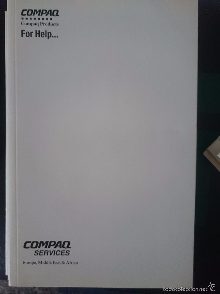 Documentos antiguos: INSTRUCCIONES PARA ORDENADOR COMPAQ PRODUCTS FOR HELP - Foto 1 - 57929293