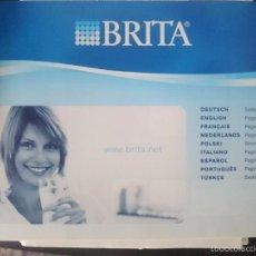 Documentos antiguos: INSTRUCCIONES PARA BRITA - FILTRO AGUA. Lote 57929343