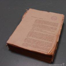 Documentos antiguos: LIBRO FERROCARRILES TREN RENFE CON RELACIÓN DE TRABAJADORES POR CATEGORÍAS AÑO 1963. Lote 57990734