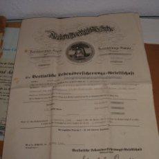 Documentos antiguos: DOCUMENTO ALEMAN, 1940. Lote 58085817