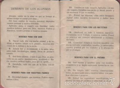 Documentos antiguos: cartilla o libreta escolar - colegio de san gabriel de valls - tarragona curso 1907 - 1908 texto - Foto 4 - 58097815