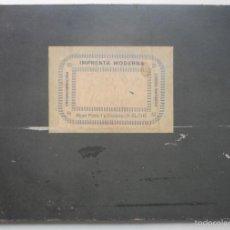 Documentos antiguos: LIBRO ESPECIAL DE VENTAS - EDITA IMPRENTA MODERNA DE ELCHE (ALICANTE) - AÑO 1930. Lote 58656351