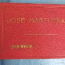 Documentos antiguos: LIBRETA PARA TOMAR NOTAS REGALO DE JOSÉMARTÍ PRATS, MADRID, SIN FECHA.. Lote 58989205